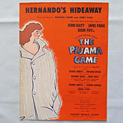 �Hernando�s Hideaway� � Broadway Musical �The Pajama Game�, 1954