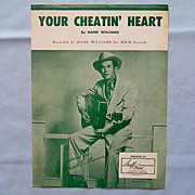 SALE PENDING �Your Cheatin� Heart�- Hank Williams, 1952