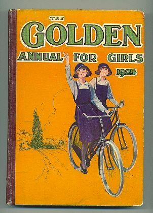 """Golden Annual for Girls"", 1922, Illustrated Schoolgirl Stories"