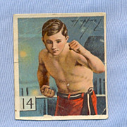 REDUCED Mecca Cigarettes 1910 Sports Card � Billy Papke, Boxer