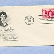 Francis Scott Key, National Anthem Author, 1948 First Day Cover
