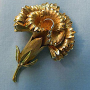SALE Lovely Flower Brooch by Trifari � Quality, Style and Beauty
