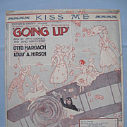 1917 Sheet Music for Aircraft  and Broadway Memorabilia Collectors 'Going Up'