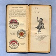 Dutch Boy Paint Notebook - 1908 National Lead Company Giveaway