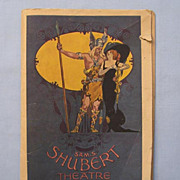 Boston Shubert Theater Program, 'H.M.S. Pinafore', 1914 Performance