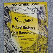 �No Other Love�, Rodgers and Hammerstein Musical, Don Freeman Illustration, 1953