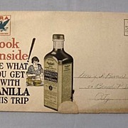 Rawleigh Advertising Mail Flyer for Toiletries, Spices, Soaps, etc. 1930s