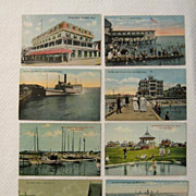 Oak Bluffs, Martha�s Vineyard, Massachusetts � Eight Early Postcards