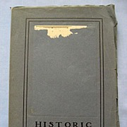 SALE 'Historic Newport' 300th Anniversary Book with Woodcut Illustrations, 1933