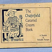 REDUCED Chaferfield Caramel Cream Recipe Booklet, 1930s, Cute Illustrations