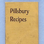 REDUCED Pillsbury Recipe Booklet for Flour, Oats and Vitos Wheat Food, Early 1900s