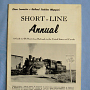 Annual Guide to 476 Short-Line Railroads in US and Canada, 1961-62