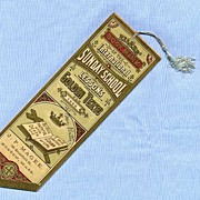 SALE Bookmark with Tassel � International Sunday School Lessons, 1886