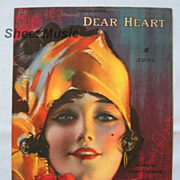 SALE PENDING �Dear Heart� � Exotic and Beautiful Girl on Cover, 1919