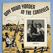 �Way Down Yonder in the Cornfield� Country Song, 1938