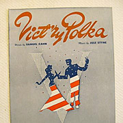 �Vict�ry Polka� Patriotic Victory 1943 World War Two Song