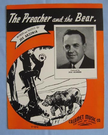 """The Preacher and the Bear"", Comical Song 1938"