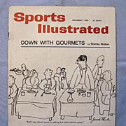 Sports Illustrated 1960, James Thurber Cover, Bobby Jones Golf Story