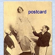 Actors from 'Mutt and Jeff' Play, on Promotional Postcard, Circa 1910