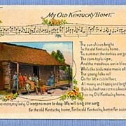 REDUCED �My Old Kentucky Home� Original Lyrics and Slave Quarters