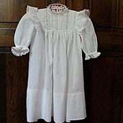 Pretty Vintage Baby Dress � Lace, Ruffles and Pin-tucks Make It Special