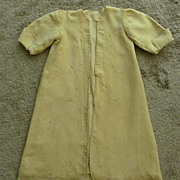 SALE Vintage Baby Coat, Fine Wool Enhanced With Embroidery