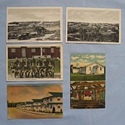 SALE Fort Devens Army Barracks Massachusetts � Five Postcards, Two World War Eras
