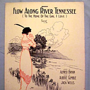�Flow Along River Tennessee� � Woman Waiting by the Shore, 1913