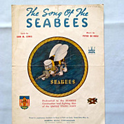 �Song of the Seabees� � Dedicated to the Navy�s Construction Battalion, 1942