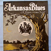 Arkansas Blues  with Ladas Louisiana Five on the Cover, 1921