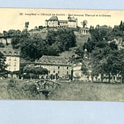 1919 Soldier�s Mail Postcard from Uriage Les Bains, France