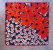 Big, Big Poppies on Scarf � Unmistakeable Design by Vera