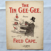 �The Tin Gee-Gee�, Victorian-Era Song About Tin Toys, 1894