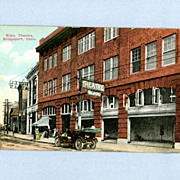 Bijou Theatre, Bridgeport, Connecticut � Postcard Postmarked 1912