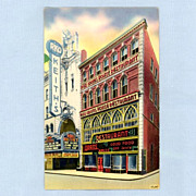 Bostons Adams Restaurant and RKO Keiths Theatre, 1945