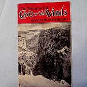 SALE Flyer for 'Cave of the Winds' in Manitou, Colorado, circa 1920