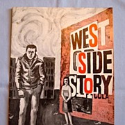 SALE 'West Side Story' 1964 Program for Tour Production with Christopher Walken