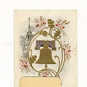 Fourth of July Picture-Frame Postcard, Circa 1905