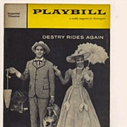 Andy Griffith in 'Destry Rides Again'  1960 Broadway Playbill