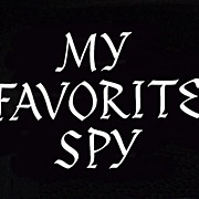 """My Favorite Spy"" (1951) with Bob Hope & Hedy Lamarr Paramount Coming Attractions Bo"