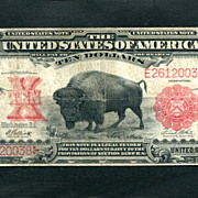 The Famous 1901 $10 Bison, United States Note,  Very Fine Bill