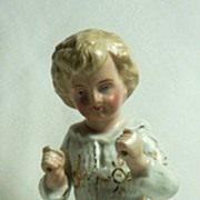 Porcelain Boy with Drum