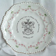 Crown Staffordshire Plate: Albany Kennett Charlesworth