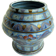 Charlotte Rhead Crown Ducal Vase: Shape #214