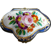 Hand-decorated Porcelain Box: Made in Spain
