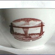 Transporter Bridge, Newport: small commemorative bowl