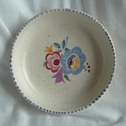 A small Poole Pottery Pin Dish
