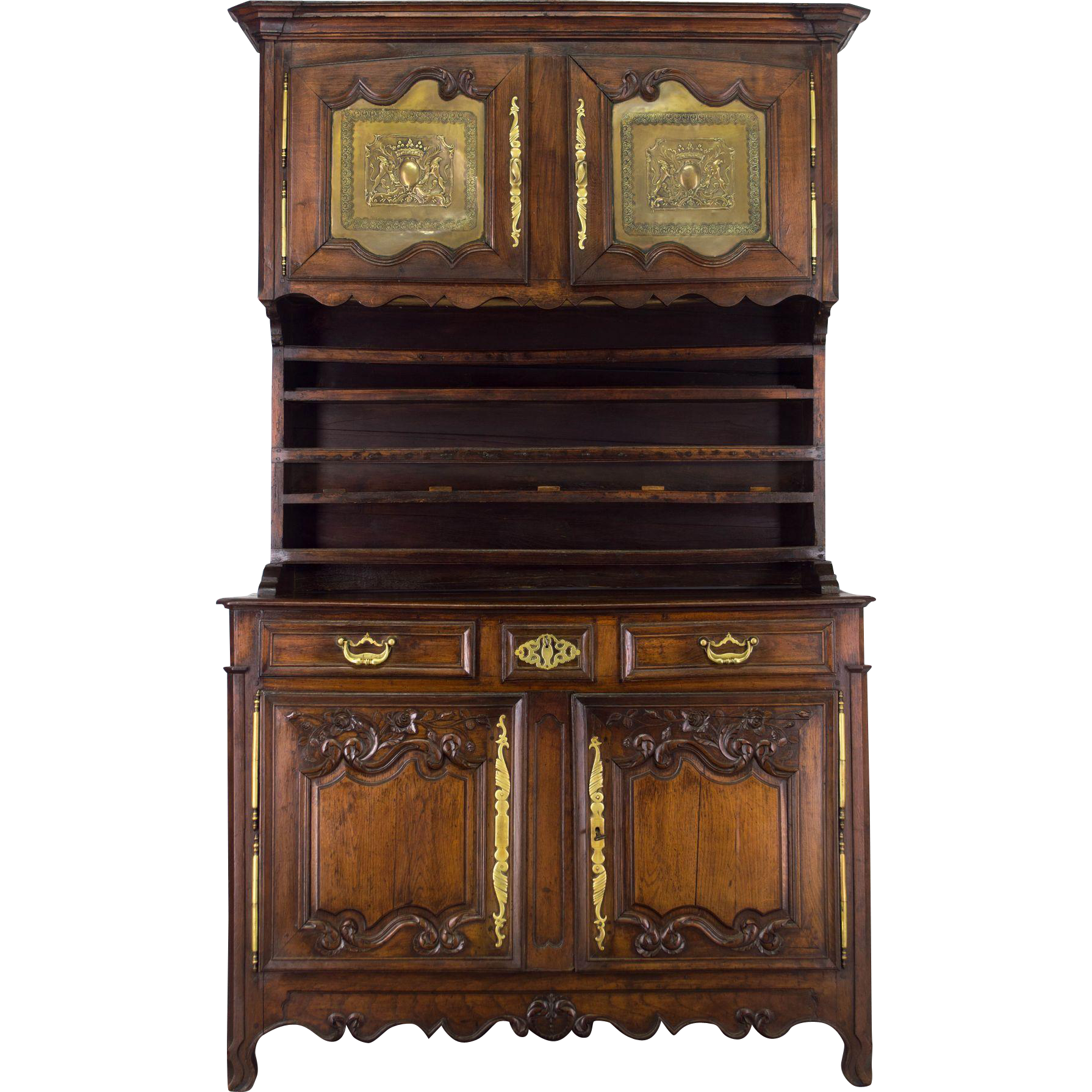 French Country Vaisellier or Hutch