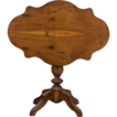 French Walnut Gueridon or Tilt Top Table