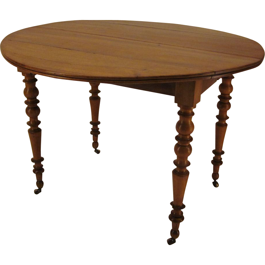 Louis philippe style dining table from ofleury on ruby lane for Table louis philippe